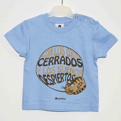 Camiseta «Con los ojos cerrados»