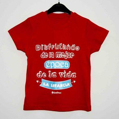 """Camiseta """"Disfrutando de la mejor época"""""""