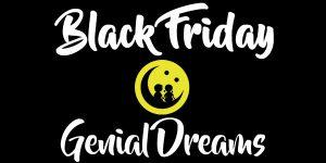 Black Friday en Genial Dreams – ¡30% de descuento!